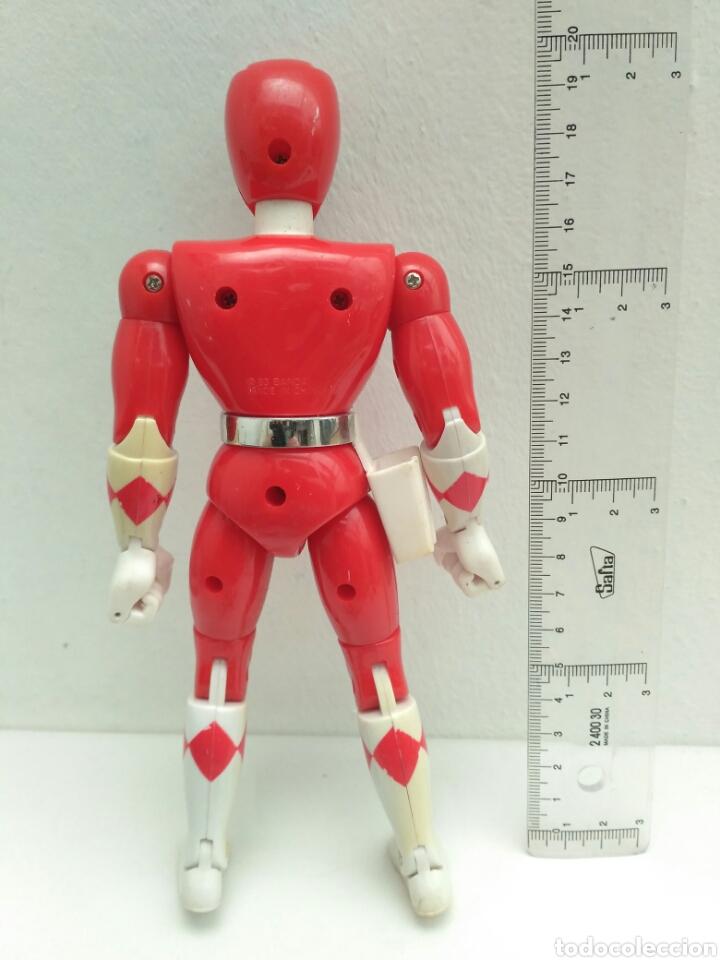 Figuras y Muñecos Power Rangers: Figura de acción power ranger rojo rangers - Foto 2 - 172068359