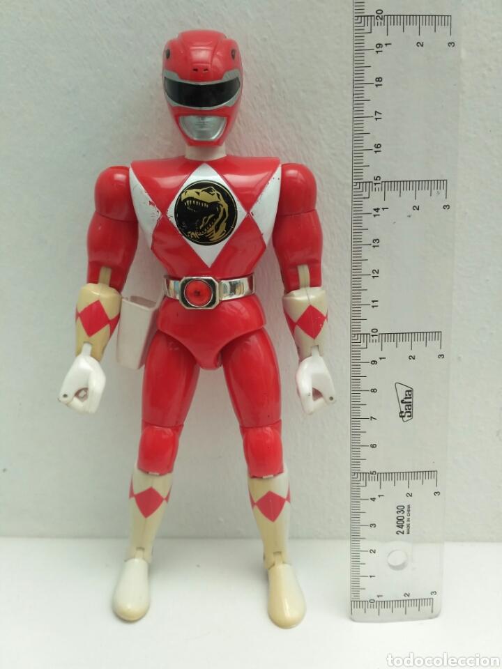 FIGURA DE ACCIÓN POWER RANGER ROJO RANGERS (Juguetes - Figuras de Acción - Power Rangers)