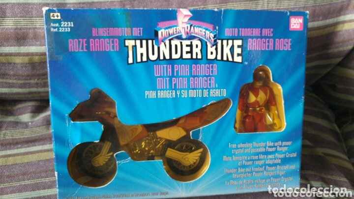 THUNDER BIKE POWER RANGERS A ESTRENAR (Juguetes - Figuras de Acción - Power Rangers)