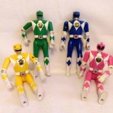 Figuras y Muñecos Power Rangers: MUÑECOS POWER RANGERS,4 UNIDADES,BANDAI DEL 93. Lote 173813419