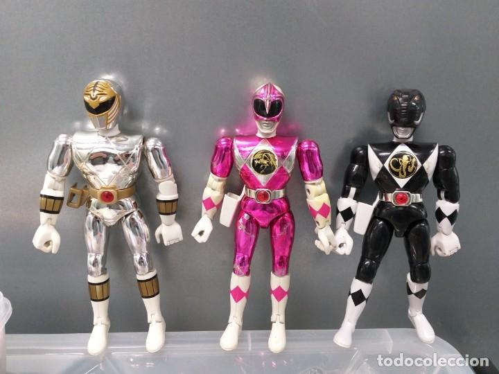 Figuras y Muñecos Power Rangers: lote 4 figuras de accion power rangers bandai vintage años 90 - Foto 2 - 173892648