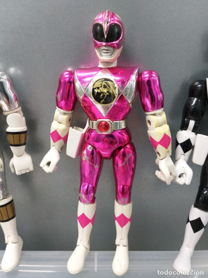 Figuras y Muñecos Power Rangers: lote 4 figuras de accion power rangers bandai vintage años 90 - Foto 5 - 173892648