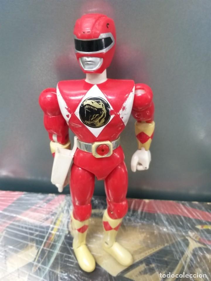 Figuras y Muñecos Power Rangers: lote 4 figuras de accion power rangers bandai vintage años 90 - Foto 9 - 173892648