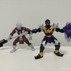 Figuras y Muñecos Power Rangers: LOTE DE 2 FIGURAS DE POWER RANGERS MYSTIC FORCE KORAGG E HIDIAC BANDAI 2005. Lote 174281630