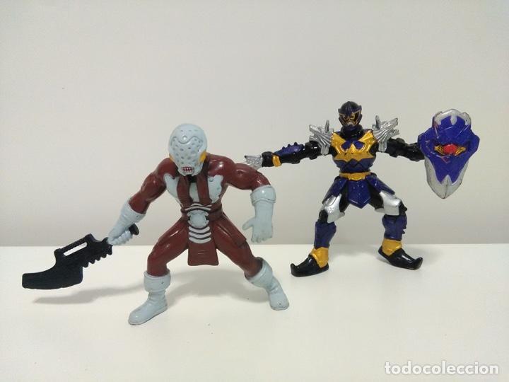 Figuras y Muñecos Power Rangers: Lote de 2 figuras de Power Rangers Mystic Force Koragg e Hidiac Bandai 2005 - Foto 2 - 174281630