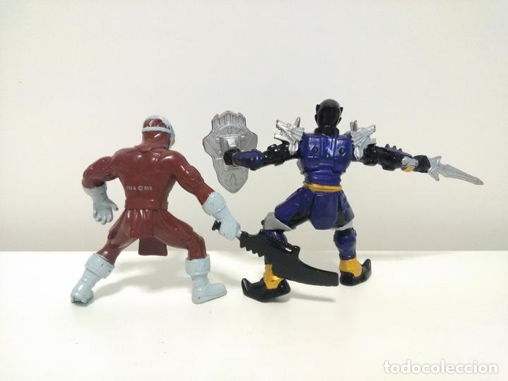 Figuras y Muñecos Power Rangers: Lote de 2 figuras de Power Rangers Mystic Force Koragg e Hidiac Bandai 2005 - Foto 3 - 174281630