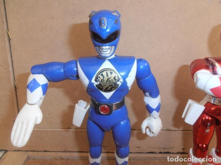 Figuras y Muñecos Power Rangers: FIGURA ARTICULADA POWER RANGER - BANDAI - Foto 5 - 174437239