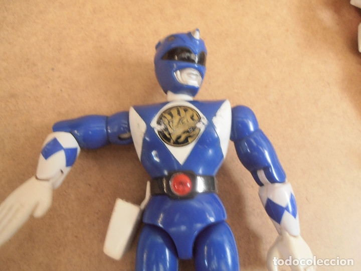 Figuras y Muñecos Power Rangers: FIGURA ARTICULADA POWER RANGER - BANDAI - Foto 9 - 174437239