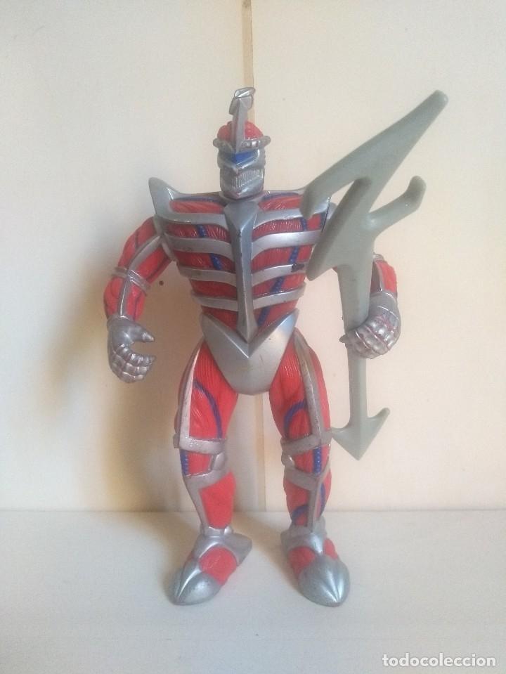 POWER RANGERS - LORD ZEDD - BANDAI 1995 - CON VOZ - RARO (Juguetes - Figuras de Acción - Power Rangers)