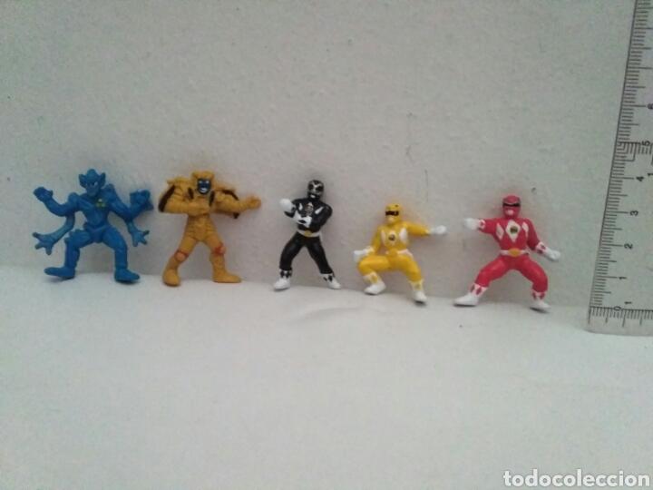 MINI FIGURAS POWER RANGERS (Juguetes - Figuras de Acción - Power Rangers)