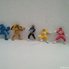 Figuras y Muñecos Power Rangers: MINI FIGURAS POWER RANGERS. Lote 175629364