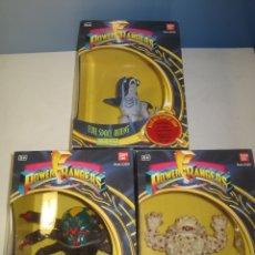 Figuras y Muñecos Power Rangers: LOTE 3 CAJAS POWER RANGERS EVIL SPACE ALIENS NUEVAS COLECCION BANDAI 1993. Lote 175898877