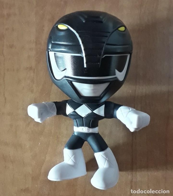 BURGUER KING POWER RANGERS BLACK NEGRO (Juguetes - Figuras de Acción - Power Rangers)