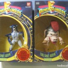 Figuras y Muñecos Power Rangers: LOTE 2 CAJAS POWER RANGERS EVIL SPACE ALIENS NUEVAS COLECCION BANDAI 1993. Lote 176515080