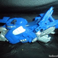 Figuras y Muñecos Power Rangers: MOTO RANGER AZUL - POWER RANGERS SUPER SAMURAI - FIGURA PVC -2011 BANDAI. Lote 176839649