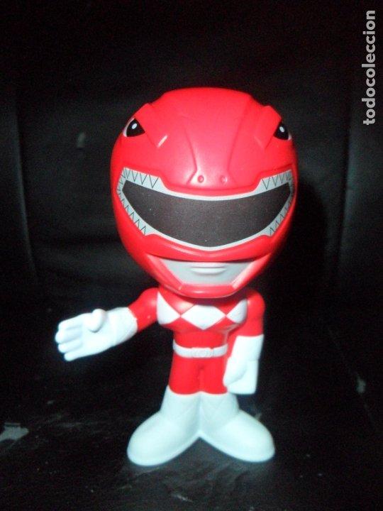 RANGER ROJO FIGURA CABEZONA - POWER RANGERS 1ª SERIE - FIGURA MCDONALDS - (Juguetes - Figuras de Acción - Power Rangers)