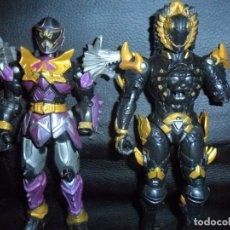 Figuras y Muñecos Power Rangers: LOTE DE 3 POWER RANGERS - LES FALTAN 1 MANO -. Lote 180112025