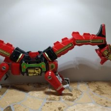 Figuras y Muñecos Power Rangers: MUÑECO THUNDERZORD DRAGON ROJO POWER RANGERS 1994 FIGURA. Lote 180434827