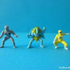 Figuras y Muñecos Power Rangers: MINI FIGURAS POWER RANGERS Y VILLANOS. KING SPHINX - SABAN 1994 Y 1995 - PUTTY PATROL MICROMACHIN. Lote 181427942