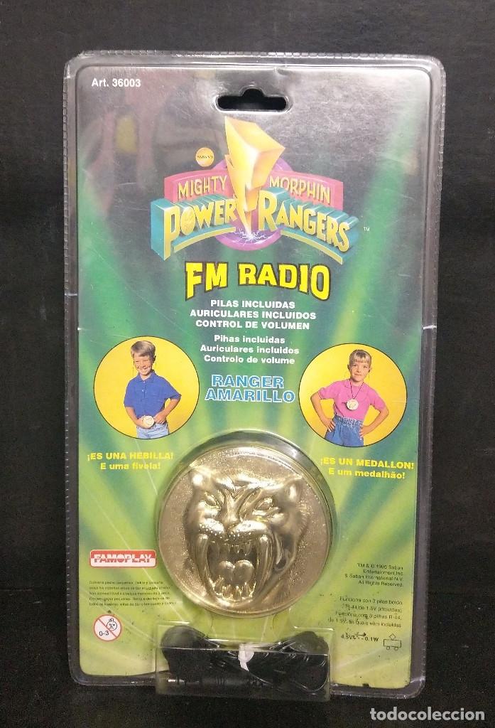 POWER RANGERS FM RADIO DE FAMOPLAY (Juguetes - Figuras de Acción - Power Rangers)