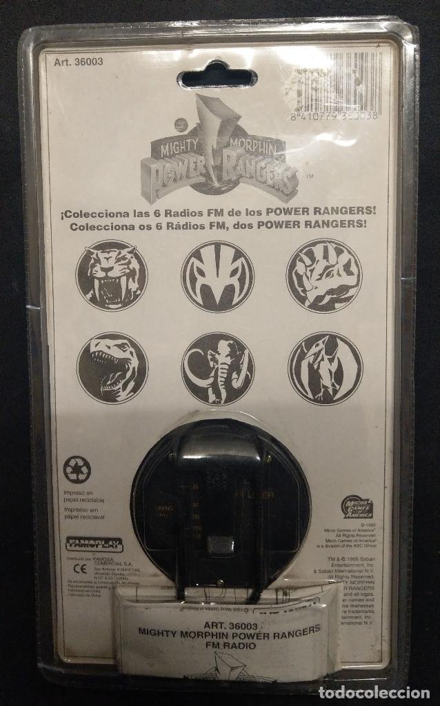 Figuras y Muñecos Power Rangers: Power Rangers Fm Radio de Famoplay - Foto 2 - 181521330