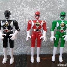 Figuras y Muñecos Power Rangers: LOTE 3 FIGURAS DE ACCION MIGHTY MORPHIN POWER RANGERS BANDAI 1993. Lote 181610163