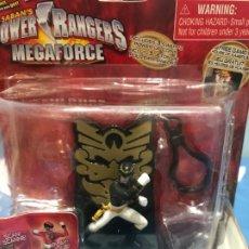 Figuras y Muñecos Power Rangers: POWER RANGERS BLACK RANGERS AÑO 2013. Lote 182081422