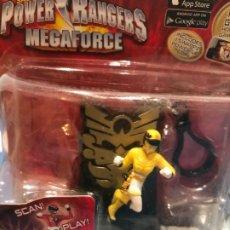 Figuras y Muñecos Power Rangers: POWER RANGERS YELLOW RANGER SABAN AÑO 2013. Lote 182082166