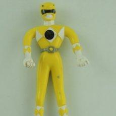 Figuras y Muñecos Power Rangers: MUÑECO ARTICULADO DE POWER RANGER AMARILLO 1994. Lote 182236873