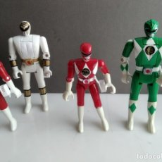 Figuras y Muñecos Power Rangers: LOTE DE POWER RANGERS ANTIGUOS . Lote 182519325