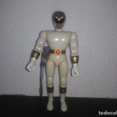 Figuras y Muñecos Power Rangers: POWER RANGERS BLANCO BANDAI CON SU ESPADA 1993. Lote 184362640