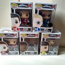 Figurines et Jouets Power Rangers: LOTE FUNKO POP - POWER RANGERS - 25 ANIVERSARIO - NO HELMET (SIN CASCO). Lote 184832171