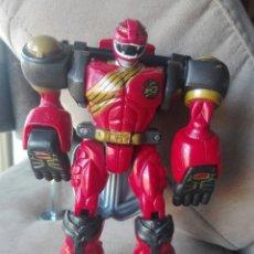 Figuras y Muñecos Power Rangers: POWER RANGER ROJO. BANDAI 2002. SE TRANSFORMA EN LEÓN. Lote 184837185