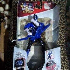 Figuras y Muñecos Power Rangers: BLISTER FIGURA BLUE POWER RANGERS SUPER SAMURAI DE BANDAI NUEVO. Lote 184892375