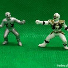 Figuras y Muñecos Power Rangers: FIGURAS POWER RANGERS EN GOMA. Lote 186454011
