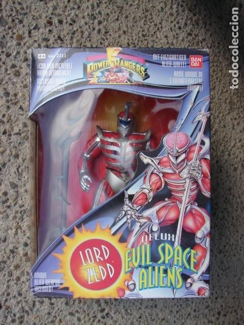 Figuras y Muñecos Power Rangers: LORD ZEDD - POWER RANGERS - Foto 1 - 187429772