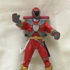 Figuras y Muñecos Power Rangers: FIGURA NINJA POWER RANGER ROJO BANDAI 1999 14 CM MUÑECO RANGER ANTIGUO ROJO NINJA . Lote 189190621