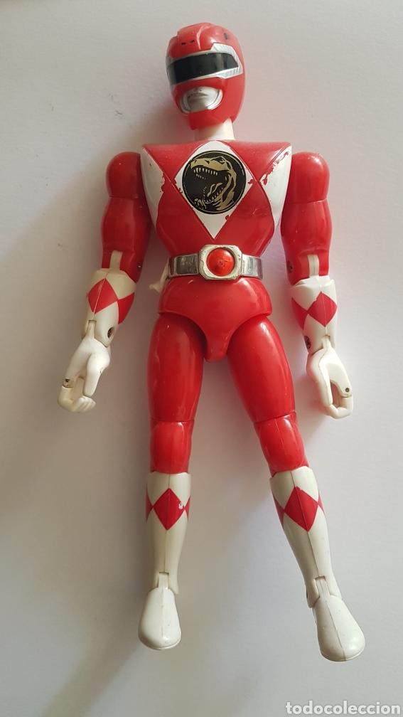POWER RANGERS ROJO (Juguetes - Figuras de Acción - Power Rangers)