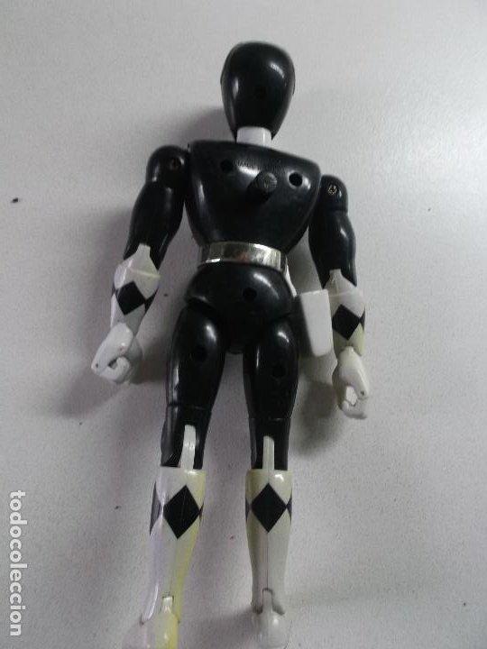 Figuras y Muñecos Power Rangers: power rangers, negro bandai 1993 ARTICULADO, 21 CNT ALTO - Foto 2 - 189482606