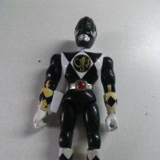 Figuras y Muñecos Power Rangers: POWER RANGERS, NEGRO BANDAI 1993 ARTICULADO, 21 CNT ALTO. Lote 189482606