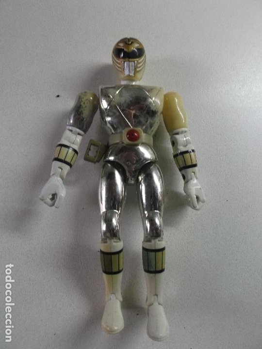 Figuras y Muñecos Power Rangers: power rangers, PLATEADO bandai 1993 ARTICULADO, 21 CNT ALTO, - Foto 3 - 189482677