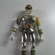 Figuras y Muñecos Power Rangers: POWER RANGERS, PLATEADO BANDAI 1993 ARTICULADO, 21 CNT ALTO,. Lote 189482677