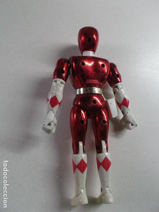 Figuras y Muñecos Power Rangers: power rangers, ROJO CEREZA bandai 1993 ARTICULADO, 21 CNT ALTO, DIFICIL - Foto 2 - 189482835