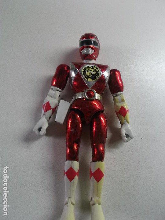 Figuras y Muñecos Power Rangers: power rangers, ROJO CEREZA bandai 1993 ARTICULADO, 21 CNT ALTO, DIFICIL - Foto 3 - 189482835