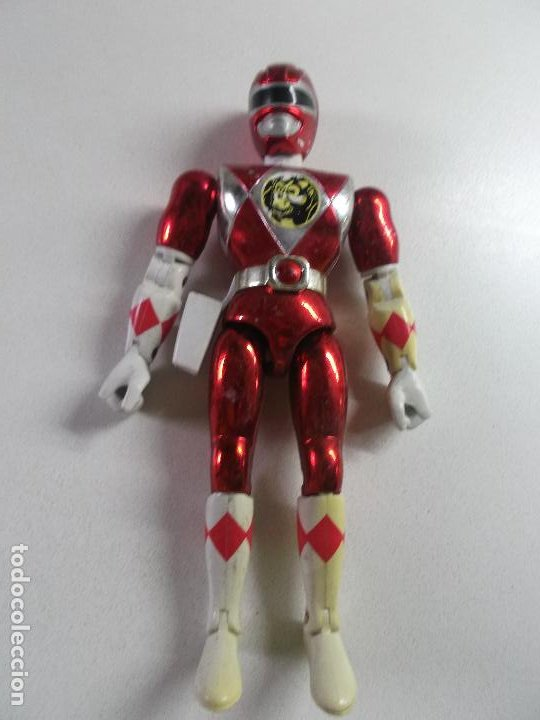 POWER RANGERS, ROJO CEREZA BANDAI 1993 ARTICULADO, 21 CNT ALTO, DIFICIL (Juguetes - Figuras de Acción - Power Rangers)