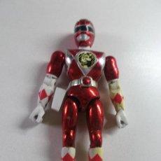 Figuras y Muñecos Power Rangers: POWER RANGERS, ROJO CEREZA BANDAI 1993 ARTICULADO, 21 CNT ALTO, DIFICIL. Lote 189482835