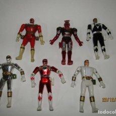 Figuras y Muñecos Power Rangers: ANTIGUO LOTE DE 6 FIGURAS POWER RANGERS Y OTRAS DE BANDAI AÑO 1993-95-96. Lote 189648148