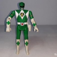 Figuras y Muñecos Power Rangers: MIGHTY MORPHIN POWER RANGERS VERDE TOMMY GREEN RANGER AUTO MORPHIN FIGURA DE 14 CM BANDAI 1993. Lote 189674443
