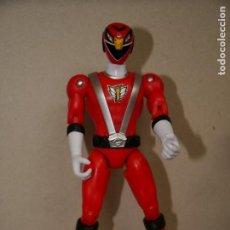 Figuras y Muñecos Power Rangers: POWER RANGERS –FULL THROTTLE RPM ENGINE SENTAI 2008 BMG ROJO RED. Lote 189717456