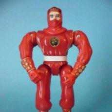 Figuras y Muñecos Power Rangers: MIGHTY MORPHIN POWER RANGERS RED NINJA FIGURA DE 14 CM BANDAI 1995. Lote 189717465